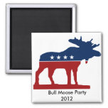 Bull Moose Party 2012 Fridge Magnets