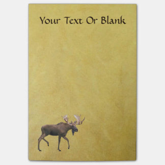 Bull Moose Post-it Notes