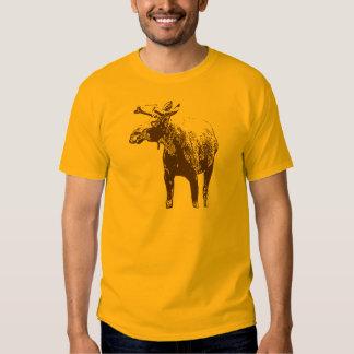 Bull Moose Sketch T Shirt