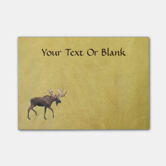 Bull Moose Post-it® Notes