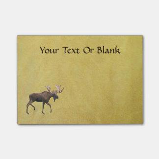 Bull Moose Post-it® Notes