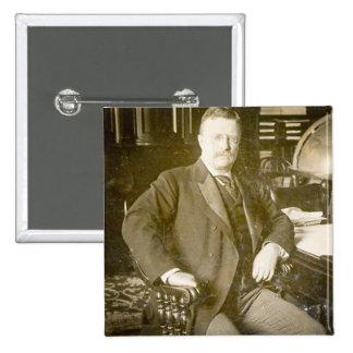 Bull Moose Teddy Roosevelt Vintage Button