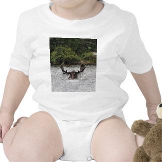 Bull Moose Baby Bodysuit