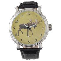 Bull Moose Wrist Watch