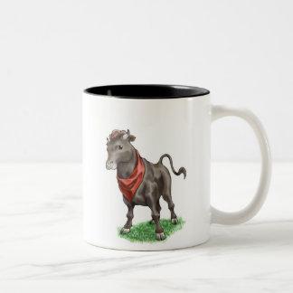 Bull - Mug- Two-Tone Coffee Mug
