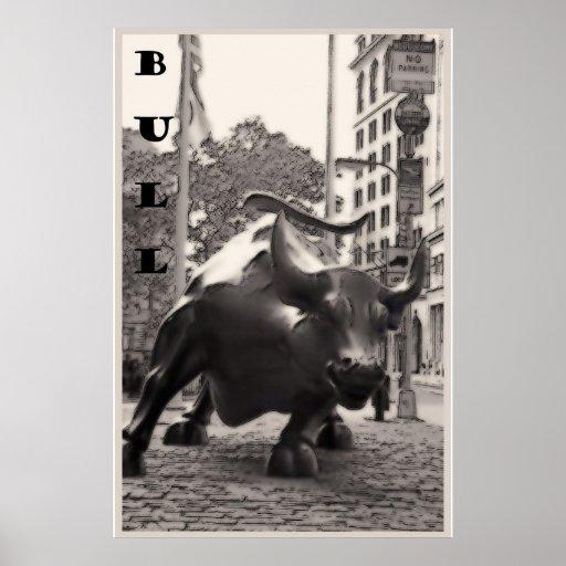 BULL, NY, poster