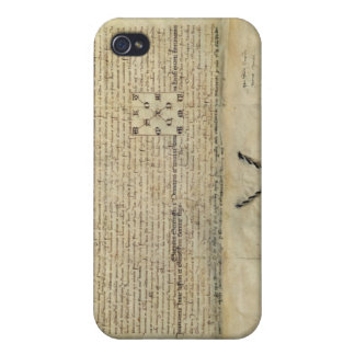 Bull of Charles IV Holy Roman Emperor Case For iPhone 4