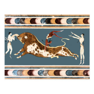 Bull of Knossos Postcard
