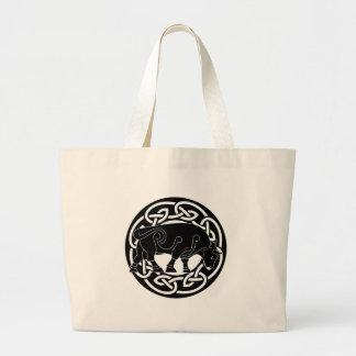 Bull of Prosperity - Celtic Knotwork Bag