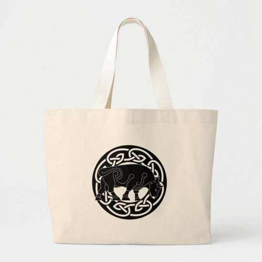 Bull of Prosperity - Celtic Knotwork Bag