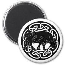 Bull of Prosperity - Celtic Knotwork Magnet