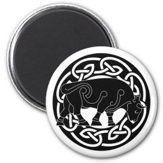 Bull of Prosperity - Celtic Knotwork Magnet