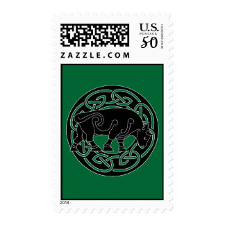 Bull of Prosperity Postage Stamp