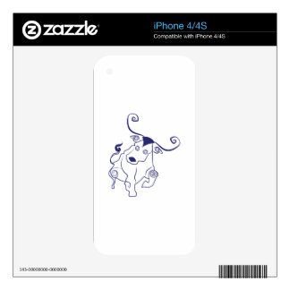 Bull Outline iPhone 4S Decal