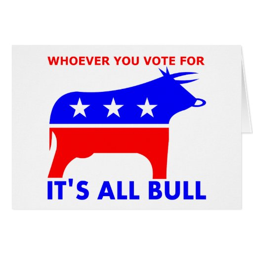 Bull Party Greeting Card