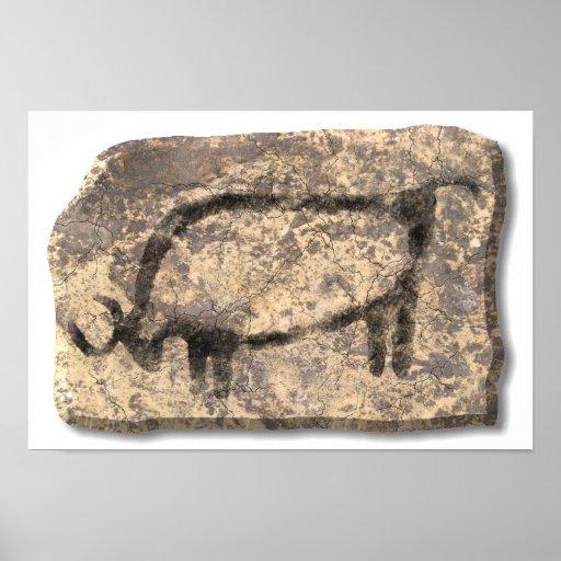 Bull-piedra Posters