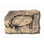 Bull-piedra Tarjeta Postal