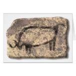 Bull-piedra Tarjeton