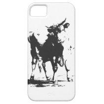 Bull Pop Art iPhone SE/5/5s Case
