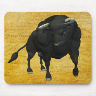 BULL - REALISTIC MOUSE PAD