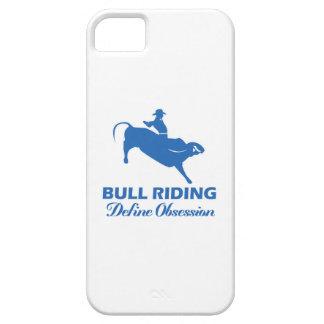 bull ride design iPhone SE/5/5s case