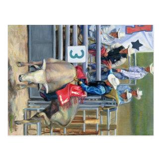 Bull Ride Postcards
