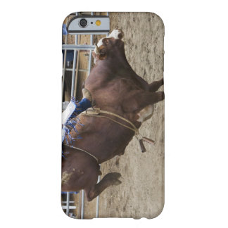 Bull rider at rodeo barely there iPhone 6 case