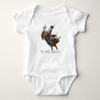 Bull rider baby bodysuit