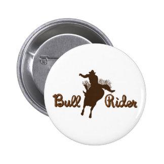 Bull Rider Pin