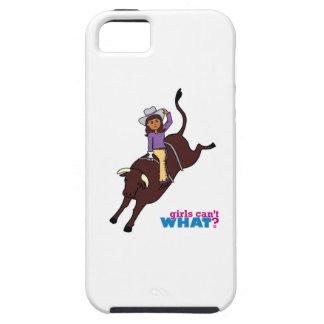 Bull Rider Dark iPhone 5/5S Case