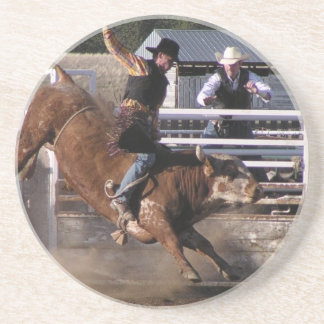 Bull Rider Extreme Sandstone Coaster