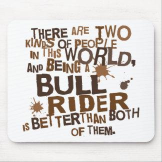 Bull Rider Gift Mousepad