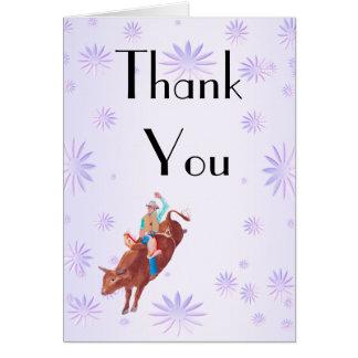 Bull Rider I Love Rodeo Cards