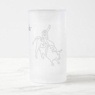 Bull Rider, Ice Mug