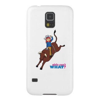 Bull Rider Light/Red Case For Galaxy S5