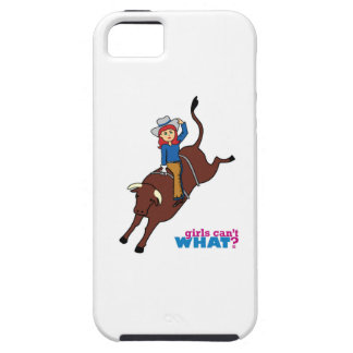 Bull Rider Light/Red Case For iPhone 5/5S