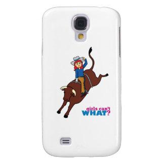 Bull Rider Light/Red Galaxy S4 Cover