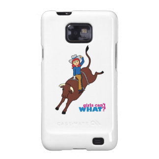 Bull Rider Light/Red Galaxy SII Covers