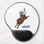 Bull Rider Light/Red Gel Mouse Pad