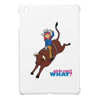 Bull Rider Light/Red iPad Mini Cases