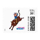 Bull Rider Light/Red Stamp