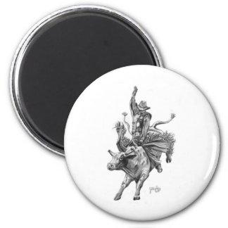 Bull Rider Magnet