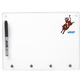 Bull Rider - Medium Dry-Erase Boards