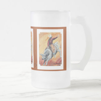 Bull & Rider Mug