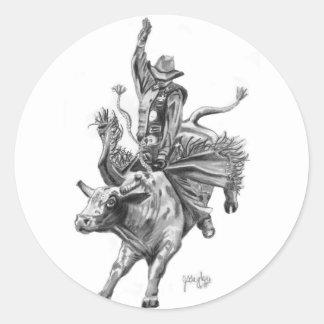 Bull Rider Sticker