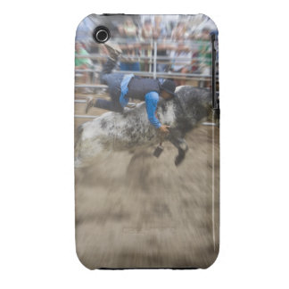 Bull rider thrown off bull iPhone 3 cover