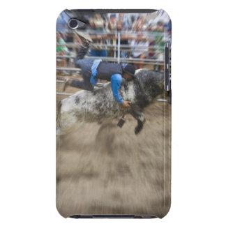 Bull rider thrown off bull iPod Case-Mate case