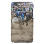 Bull rider thrown off bull iPod touch Case-Mate case