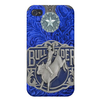 """""""Bull Rider"""" Western Rodeo IPhone 4 Case"""