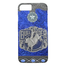 """Bull Rider"" Western Rodeo iPhone 7 case"